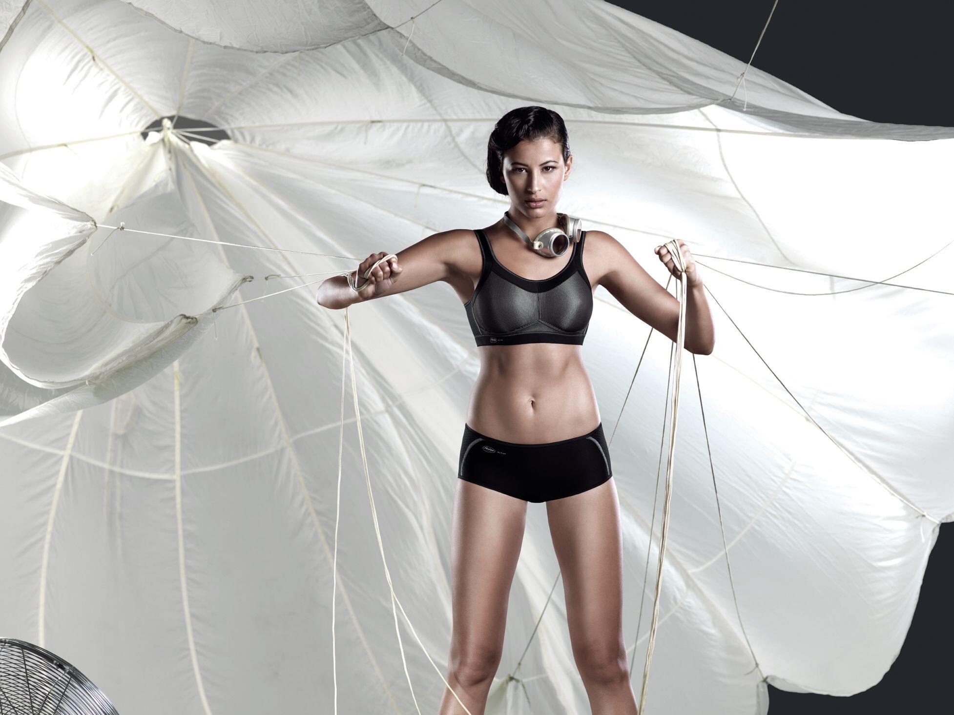 9d4a89d82 Anita Momentum Sport Bra Damer, black